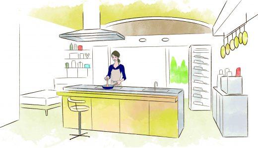 ドラマ『Chef』の部屋~レストラン並みの厨房がある賃貸住宅《ワクワク賃貸妄想中》